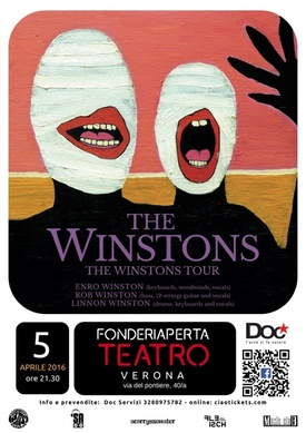 THE WINSTONS - 5 APRILE 2016 ORE 21.30