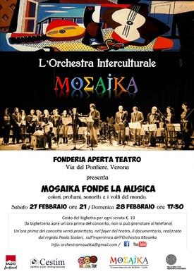 MOSAIKA FONDE LE MUSICHE - MOSAIKA FONDE LE MUSICHE