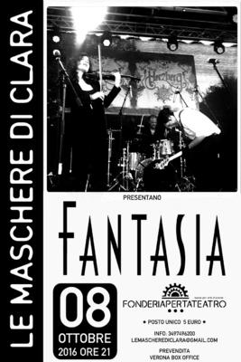 Fantasia - Le Maschere di Clara: Lorenzo Masotto - Pianoforte e Basso Laura Masotto - Violino Bruce Tutti - Batteria