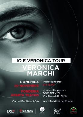 IO E VERONICA TOUR - 20 NOVEMBRE ORE 18.00