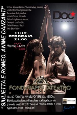 """GIULIETTA E ROMEO, ANIME DANZANTI - """"Un Inno d'Amore tra note d'Opera e melodie Immortali"""""""