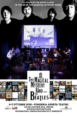 THE MAGICAL MYSTERY BAND meets THE ORCHESTRA and plays THE BEATLES - Sabato 6 ottobre 2018, ore 21.00 Domenica 7 ottobre 2018, ore 18.00