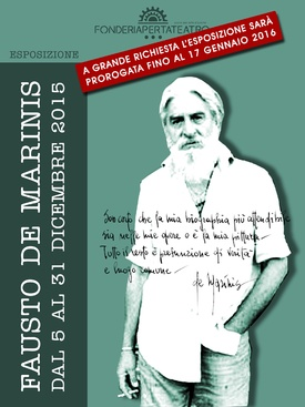 Fausto De Marinis - dal 5 Dicembre 2015 al 17 Gennaio 2016