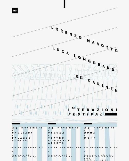 FESTIVAL INTERAZIONI – VERONA, ROMA e CAGLIARI - 24 novembre 2018 ore 21